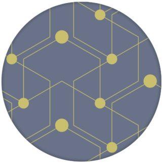 "Moderne grafische Tapete ""Celestial Dots"" großes Muster in lila grün Vliestapete grafische Wandgestaltungaus dem GMM-BERLIN.com Sortiment: blaue Tapete zur Raumgestaltung: #FarrowandBall #Grafik #grau #Linien #Nancy Blushes #punkte #rosa #tapete für individuelles Interiordesign"