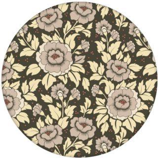 """Beige,  florale Tapete """"Mein Rosengarten"""" mit Rosen Blüten für Schlafzimmer aus den Tapeten Neuheiten Blumentapeten und Borten als Naturaltouch Luxus Vliestapete oder Basic Vliestapete"""