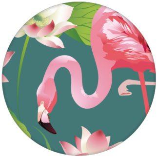 """Türkise, extravagante, exotische Tapete """"Flamingo Pool"""" mit Seerosen Vliestapete Tiere, Blumenaus dem GMM-BERLIN.com Sortiment: blaue Tapete zur Raumgestaltung: #afrika #Blume #exotisch #Flamingo #LittleGreene #Reise #See #Seerose #Trend #voegel #Vogel #Wasser #wild #wildlife für individuelles Interiordesign"""
