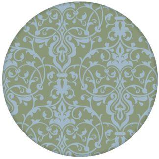 Schöne, üppige Ornament Tapete mit klassischem Damast Muster in hellblau grün Vliestapeteaus dem GMM-BERLIN.com Sortiment: blaue Tapete zur Raumgestaltung: #Ambiente #Damast #FarrowandBall #floral #interior #interiordesign #Nobel #ornament #Schloss #Stil #stilvoll für individuelles Interiordesign