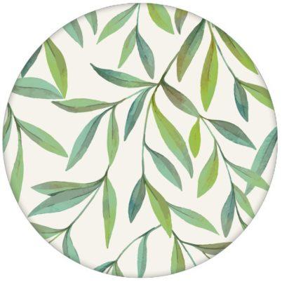 """Helle schöne Weiden Tapete """"Magic Willow"""" mit Blätter Dekor für Schlafzimmer"""