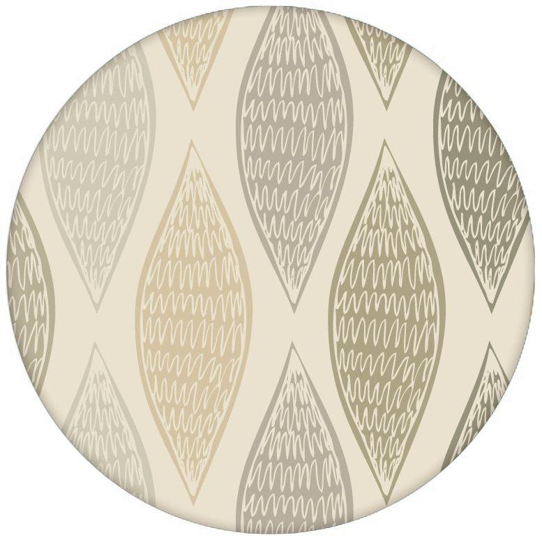 """Beige moderne Design Tapete """"Regenbogen Waben"""" mit Farbverlauf Wandgestaltung aus den Tapeten Neuheiten Exklusive Tapete für schönes Wohnen als Naturaltouch Luxus Vliestapete oder Basic Vliestapete"""
