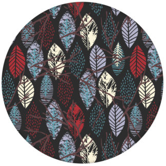 """Dunkelgraue moderne Tapete """"Im Blätterwald"""" Design Wandgestaltung aus den Tapeten Neuheiten Exklusive Tapete für schönes Wohnen als Naturaltouch Luxus Vliestapete oder Basic Vliestapete"""