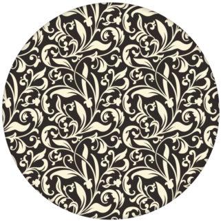 """Victorianische florale Tapete """"Victorian Delight"""" mit victorianischem Blatt Muster Farbe braun aus den Tapeten Neuheiten Blumentapeten und Borten als Naturaltouch Luxus Vliestapete oder Basic Vliestapete"""