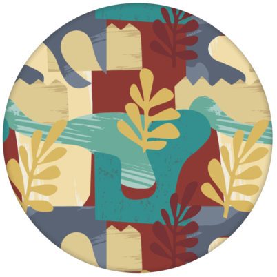 """""""Exotic Leaf"""" Design Tapete im Retro Stil der 70er beige Wandgestaltung aus den Tapeten Neuheiten Exklusive Tapete für schönes Wohnen als Naturaltouch Luxus Vliestapete oder Basic Vliestapete"""