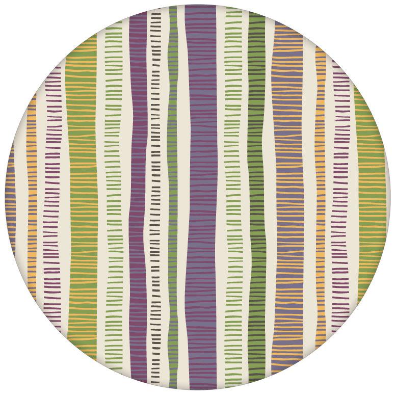 """Streifen Tapete """"Dotted Lines"""" in lila moderne Wandgestaltung aus den Tapeten Neuheiten Exklusive Tapete für schönes Wohnen als Naturaltouch Luxus Vliestapete oder Basic Vliestapete"""