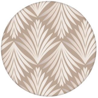 "Edle Ornament Tapete ""Art Deco Akanthus"" mit Blatt Muster, beige Wandgestaltung"