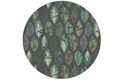 """Schöne Tapete """"Im Blätterwald""""  in grau angepasst an Farrow and Ball Wandfarben"""