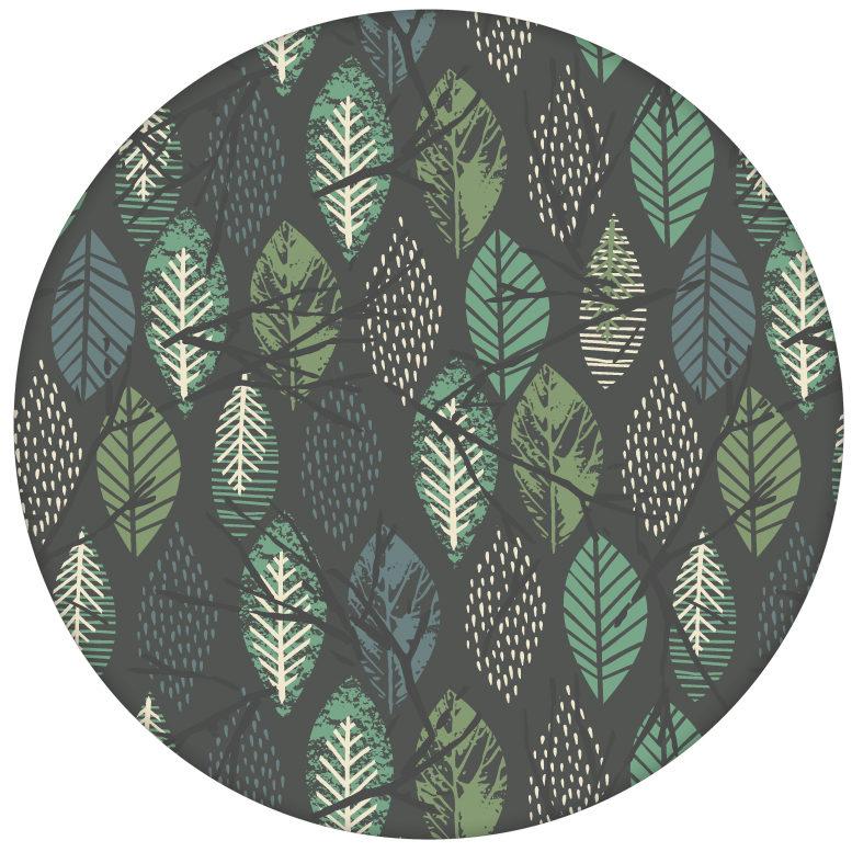 """Schöne Design Tapete """"Im Blätterwald"""" Wandgestaltung grau aus den Tapeten Neuheiten Exklusive Tapete für schönes Wohnen als Naturaltouch Luxus Vliestapete oder Basic Vliestapete"""