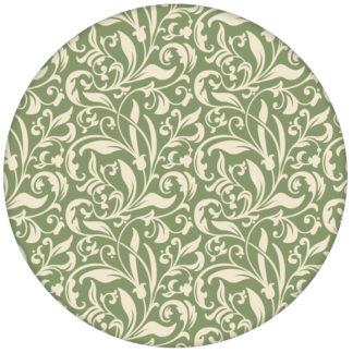 """""""Victorian Delight"""" - edle Design Tapete mit victorianischem Blatt Muster grün aus den Tapeten Neuheiten Blumentapeten und Borten als Naturaltouch Luxus Vliestapete oder Basic Vliestapete"""