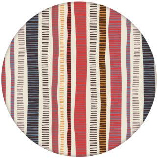 """Erfrischende Streifen Tapete """"Dotted Lines"""" in rosa grau moderne Wandgestaltung aus den Tapeten Neuheiten Exklusive Tapete für schönes Wohnen als Naturaltouch Luxus Vliestapete oder Basic Vliestapete"""
