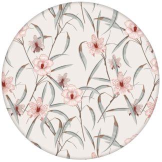 """Üppige Blumen Tapete """"Orchid Garden"""" mit Orchideen Blüten in rosa"""