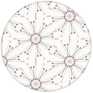 """Moderne Tapete """"Sonnenstern"""" in rosa Design Wandgestaltung aus den Tapeten Neuheiten Exklusive Tapete für schönes Wohnen als Naturaltouch Luxus Vliestapete oder Basic Vliestapete"""