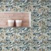 Tapete für Büroräume dunkel blau: Künstler Design Tapete