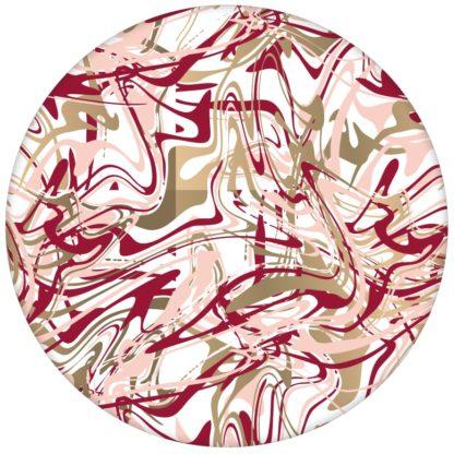 """Künstler Design Tapete """"Little Jackson"""" in rot für Büro Gang Partykeller aus den Tapeten Neuheiten Exklusive Tapete für schönes Wohnen als Naturaltouch Luxus Vliestapete oder Basic Vliestapete"""