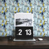 Schlafzimmer tapezieren in hellblau: Frische Segel Tapete