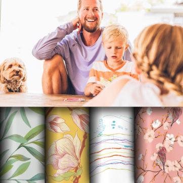 Finden Sie Tapeten für die ganze Familie auf gmm-berlin.com