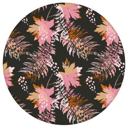 Retro Blumentapete Wildflowers in braun - florale Tapete für Schlafzimmer aus den Tapeten Neuheiten Blumentapeten und Borten als Naturaltouch Luxus Vliestapete oder Basic Vliestapete