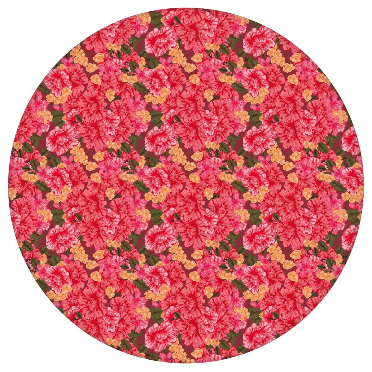 Blumentapete Shabby Flowers Landhaus shabby chic in rot - Vliestapete für Schlafzimmeraus dem GMM-BERLIN.com Sortiment: rote Tapete zur Raumgestaltung: #Ambiente #interior #interiordesign #rosen #rote Tapeten #schlafzimmerLandhaus #Shabby Chic für individuelles Interiordesign