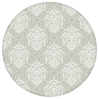 Graue Ornamenttapete My Castle Damast Muster - Design Tapete für Flur, Büro aus den Tapeten Neuheiten Blumentapeten und Borten als Naturaltouch Luxus Vliestapete oder Basic Vliestapete