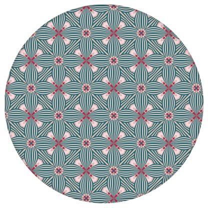 Art Deko Ornamenttapete Lilly Retro Muster in rosa - Design Tapete für Flur, Büroaus dem GMM-BERLIN.com Sortiment: rosa Tapete zur Raumgestaltung: #00120 #Ambiente #Arbeitszimmer #Art Deko #blueten #blumen #Büro #flur #Grafik #interior #interiordesign #rosa Tapeten für individuelles Interiordesign