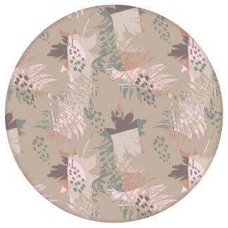 Retro Wildflowers Blumentapete in beige, florale Tapete für Ihr Zuhause aus den Tapeten Neuheiten Blumentapeten und Borten als Naturaltouch Luxus Vliestapete oder Basic Vliestapete