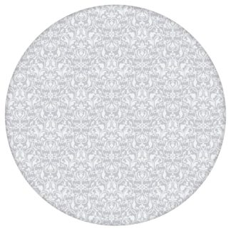 Ornamenttapete Damast Muster klassisch, floral in flieder grau, Design Tapete für Ihr Zuhause