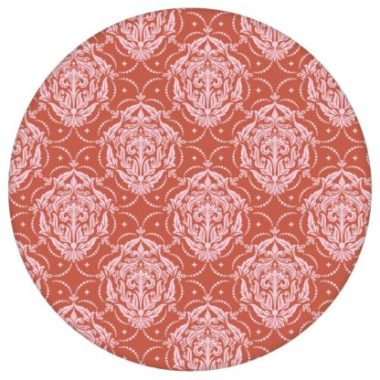 Ornamenttapete My Castle Damast Muster in rot braun, Design Tapete für Ihr Zuhauseaus dem GMM-BERLIN.com Sortiment: braune Tapete zur Raumgestaltung: #Ambiente #Braune Tapeten #edel #interior #interiordesign #klassisch #rote Tapeten #Schloss #wohnzimmerDamast für individuelles Interiordesign