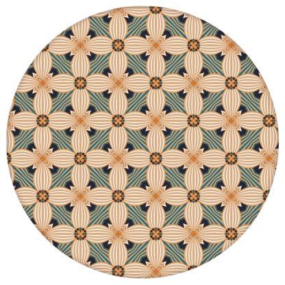 Ornamenttapete Art Deko Lilly Retro Muster in beige, Design Tapete für Ihr Zuhause aus den Tapeten Neuheiten Exklusive Tapete für schönes Wohnen als Naturaltouch Luxus Vliestapete oder Basic Vliestapete