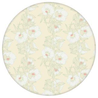Mint Blumentapete Garten Eden Blüten Ranken, Design Tapete für Ihr Zuhause