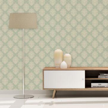 Mint Design Tapete als Wandgestaltung