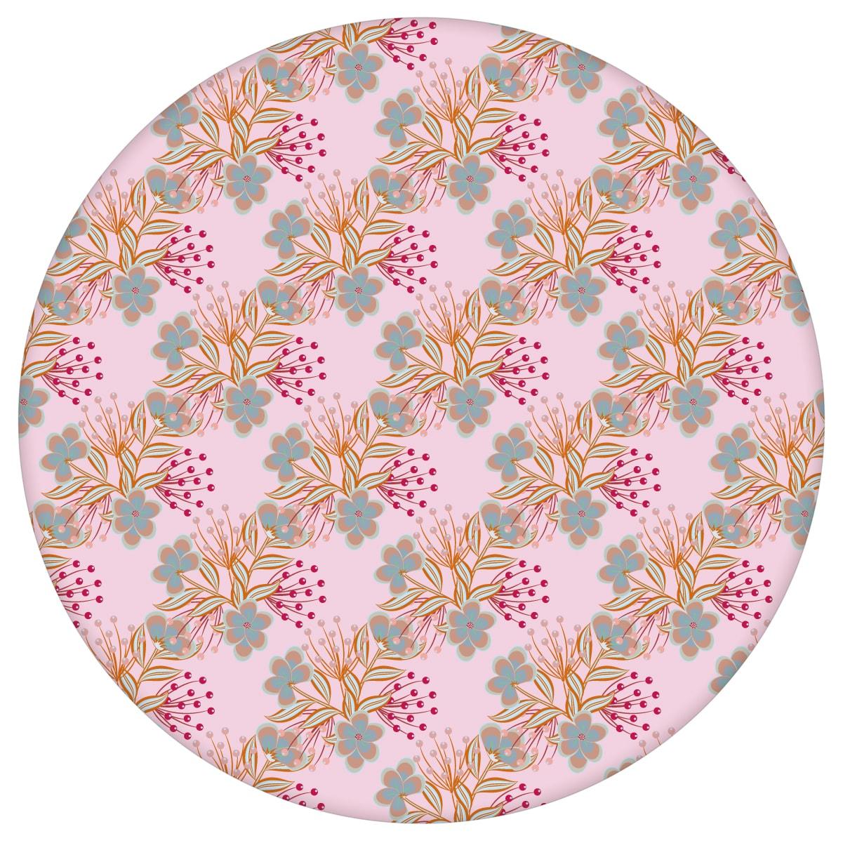 Rosa Blumentapete Classic Bouquet Blümchen Tapete, Nostalgietapete als Wandgestaltung aus den Tapeten Neuheiten Blumentapeten und Borten als Naturaltouch Luxus Vliestapete oder Basic Vliestapete