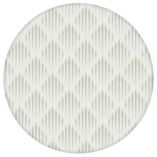 Graue Design Tapete Art Deko Diamant mit grafischer Eleganz, Ornamenttapete