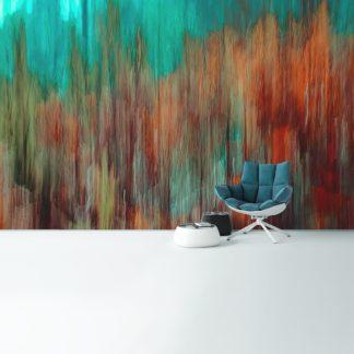 """Moderne Wandgestaltung Vliestapete """"fließende Streifen"""""""