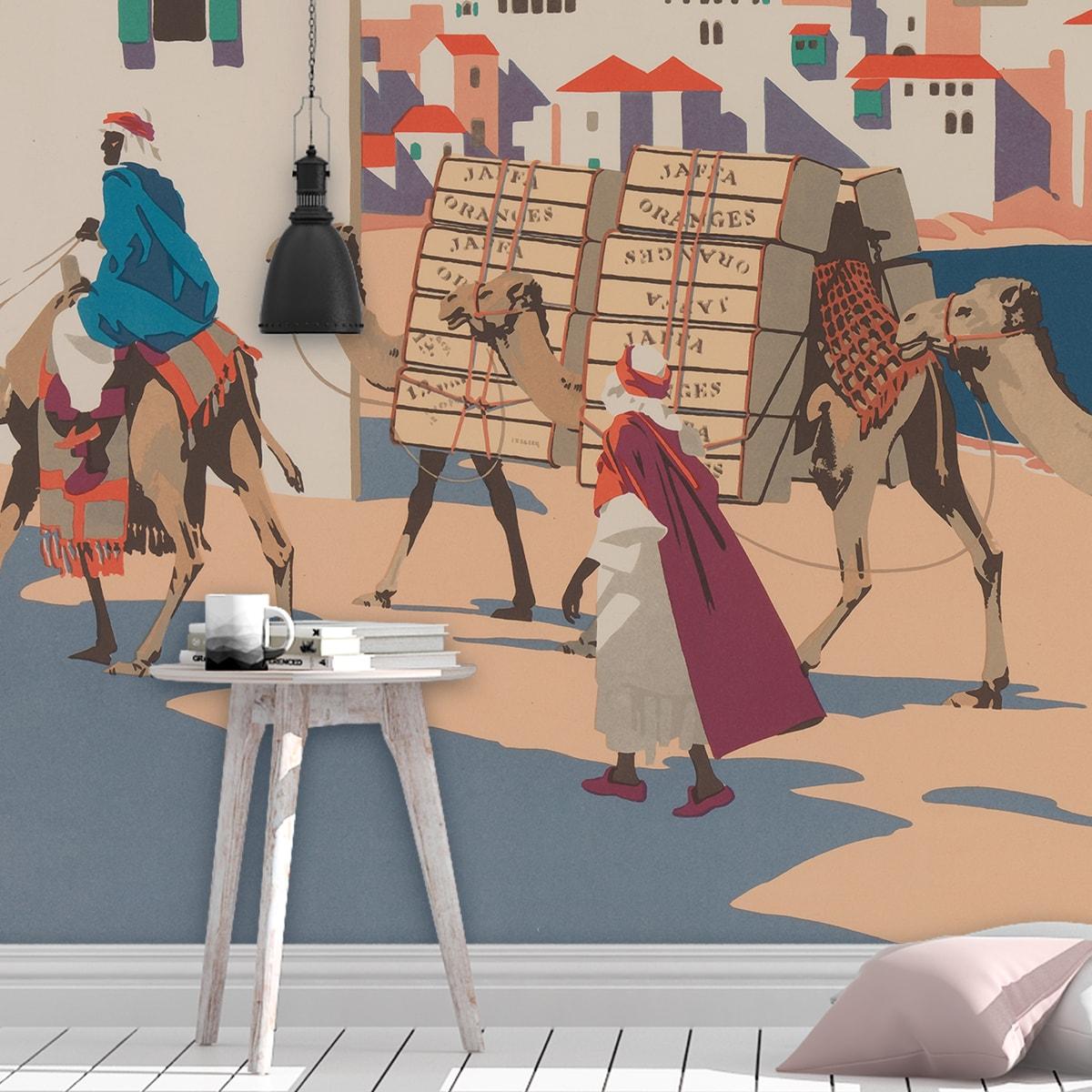 """Künstler Tapeten """"Die Orangen von Jaffa"""" nach Frank Newbould"""