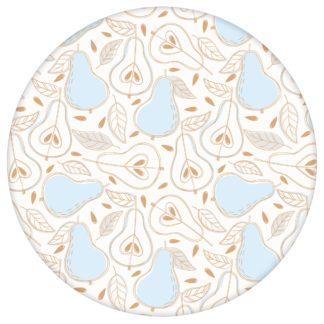 """Moderne Tapete """"Williams Birne"""" in frischer Optik, creme Vlies-Tapete Obst, grafische Wohnakzent für Wohnkücheaus dem GMM-BERLIN.com Sortiment: beige Tapete zur Raumgestaltung: #00165 #beige – cremefarbene Tapeten #Birne #creme #Design Tapete #fruechte #grafisch #kueche #obst für individuelles Interiordesign"""