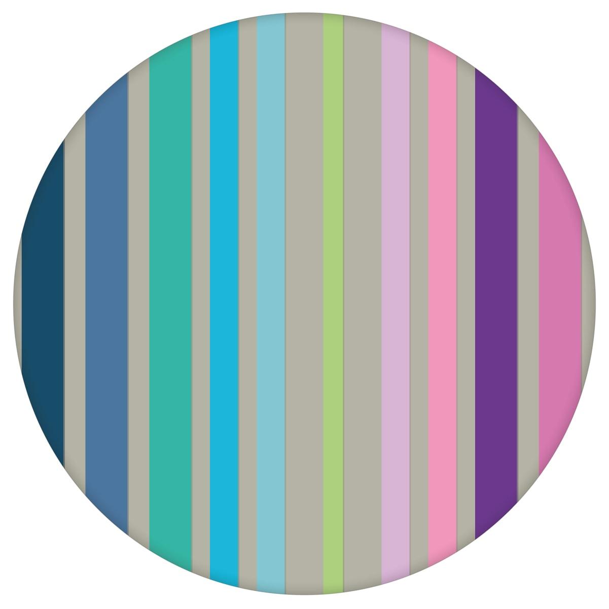 """Design Classic Tapete """"dekorativer Streifen"""" in edlen Farben, Regenbogene Vlies-Tapete Streifentapete für Wohnzimmeraus dem GMM-BERLIN.com Sortiment: lila Tapete zur Raumgestaltung: #00179 #Design #modern #Regenbogen #streifen #Streifentapete #Trend #Wohnzimmer für individuelles Interiordesign"""