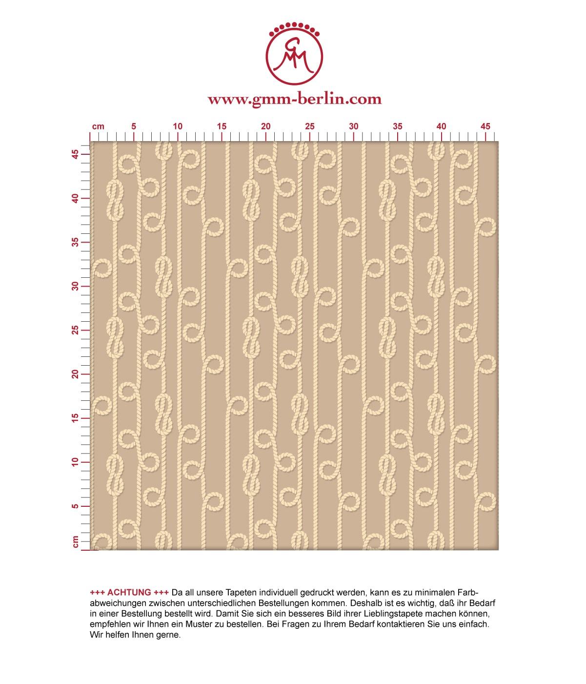 Grafische Segler Tapete