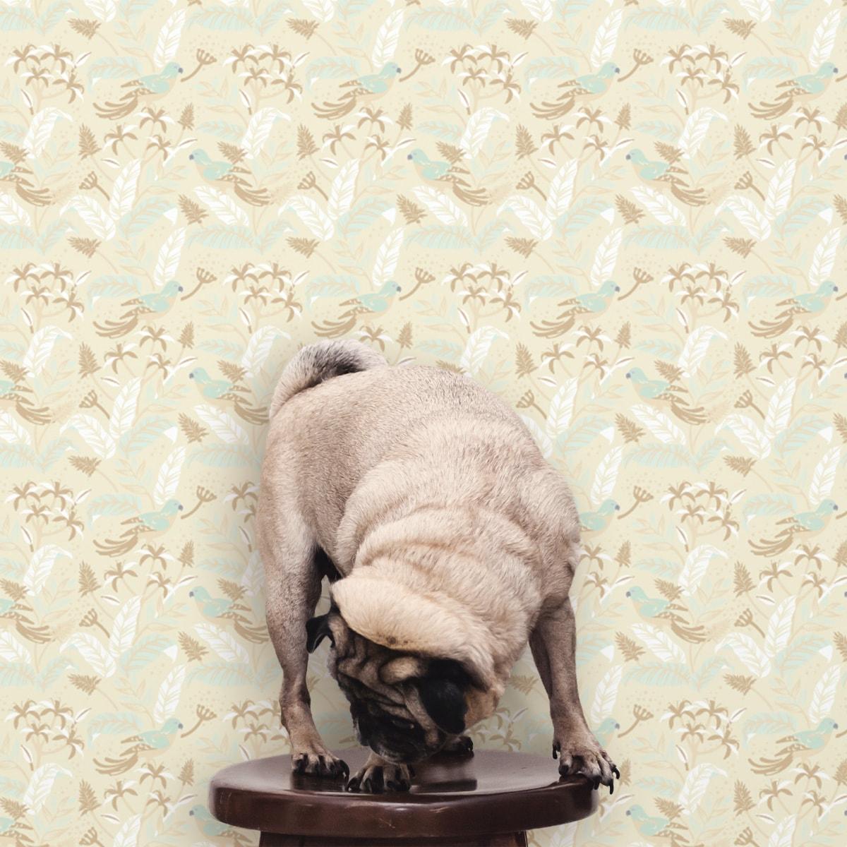 Schlafzimmer tapezieren in creme: Angepasste Diamant Tapete rosa mit Karo - Exklusive Tapeten für schönes Wohnen aus der Serie Grafische Tapeten für Wohn- und Schlafzimmer der Gräflich Münster'schen Manufaktur