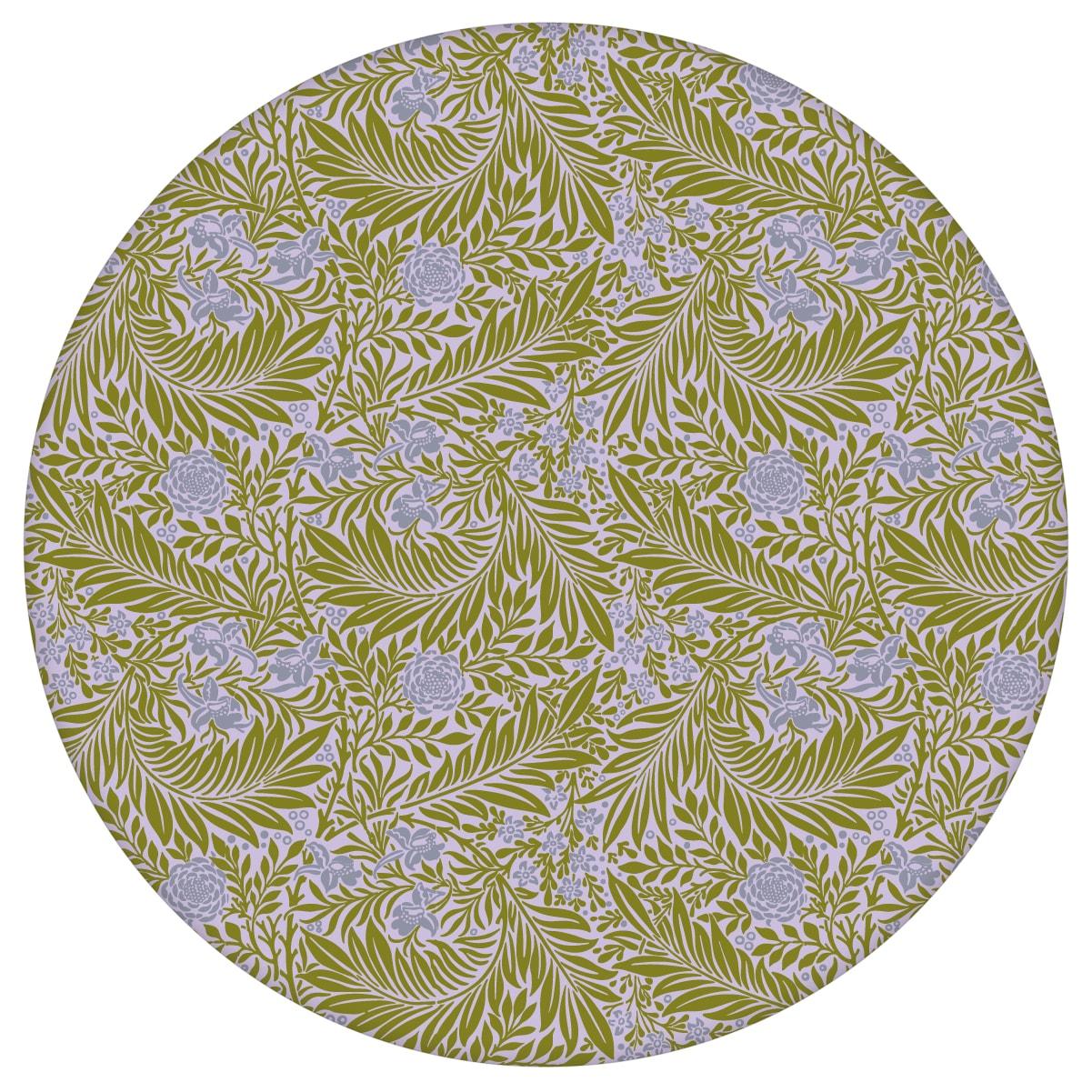 "Retro Jugendstil Tapete ""Délice florale"" nach William Morris, lila olive Vlies-Tapete kleiner Rapport für Schlafzimmeraus dem GMM-BERLIN.com Sortiment: blaue Tapete zur Raumgestaltung: #00177 #beige #beige – cremefarbene Tapeten #Blaue Tapeten #blumen #Blumentapete #dunkelblau #Jugendstil #Natur #ornamente #Ranken #Retro #schlafzimmer #vintage #WilliamMorris für individuelles Interiordesign"