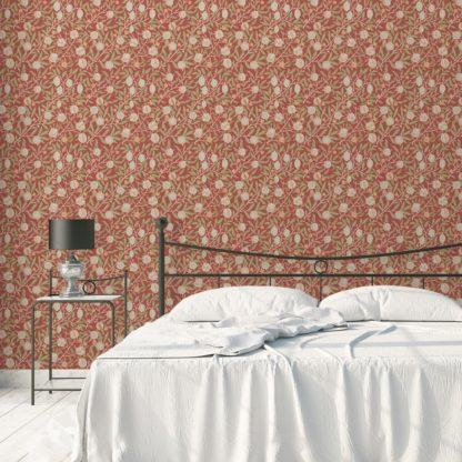 Garten Tapete: Die Apfelkirsche - Entdecken Sie edle #Design #Tapeten für ein edles #Wohnambiente#schlafzimmer #esszimmer #kinderzimmer #büro #küche. Aus dem GMM-BERLIN.com Sortiment: Schöne Tapeten in der Farbe: grün
