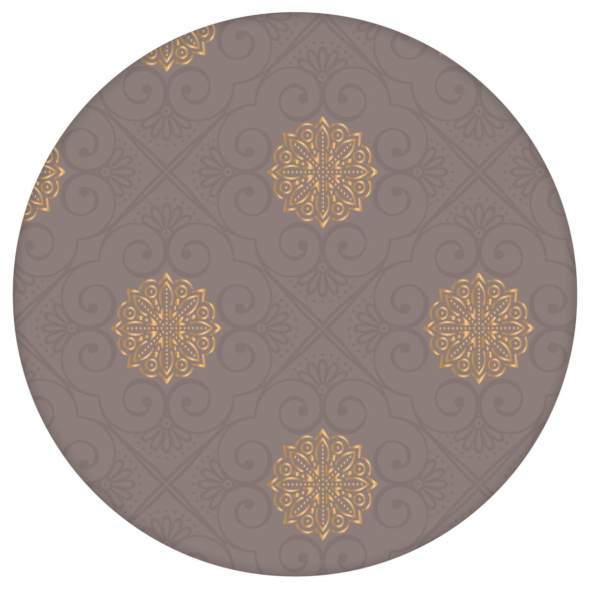 """Elegante oriental Tapete """"Mandarin"""", grau braune Vlies-Tapete, Ornamenttapete für Wohnzimmer aus den Tapeten Neuheiten Exklusive Tapete für schönes Wohnen als Naturaltouch Luxus Vliestapete oder Basic Vliestapete"""