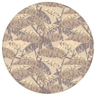 """""""Wild Bananas"""" mit Blättern, beige moderne Vlies Tapete üppige Blumentapete für Kücheaus dem GMM-BERLIN.com Sortiment: beige Tapete zur Raumgestaltung: #00137 #Banane #beige #beige – cremefarbene Tapeten #Blätter #blumen #Blumentapete #dschungel #kinderzimmer für individuelles Interiordesign"""