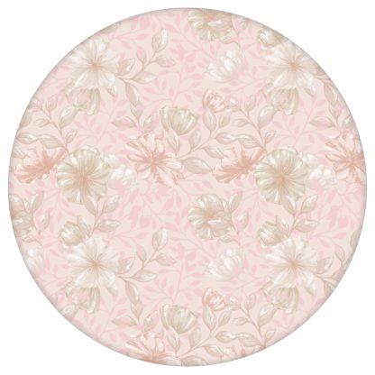 """Zarte, rosa Tapete """"Hibiskus Garten"""" mit üppigen Blüten, rosa Vlies Tapete Blumen, feine Blumentapete für Kücheaus dem GMM-BERLIN.com Sortiment: rosa Tapete zur Raumgestaltung: #00172 #blueten #blumen #Blumentapete #Hibiskus #kueche #rosa #rosa Tapeten #üppig für individuelles Interiordesign"""