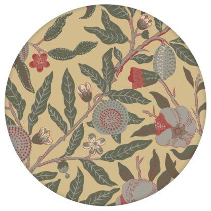 """VintageJugendstil Tapete """"Granatapfel Baum"""" nach William Morris, beige Vlies Tapete Blumen Natur, elegante Wanddeko für Flur, Büroaus dem GMM-BERLIN.com Sortiment: beige Tapete zur Raumgestaltung: #00178 #Baum #beige #beige – cremefarbene Tapeten #blumen #Blumentapete #Büro #flur #Granatapfel #Jugendstil #Natur #Retro #vintage #WilliamMorris für individuelles Interiordesign"""