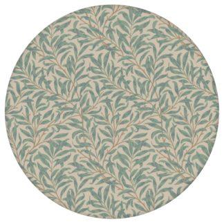 """Klassische Jugendstil Tapete """"Wilde Weiden"""" nach William Morris, beige Vlies Tapete Blumen Natur für Küche"""
