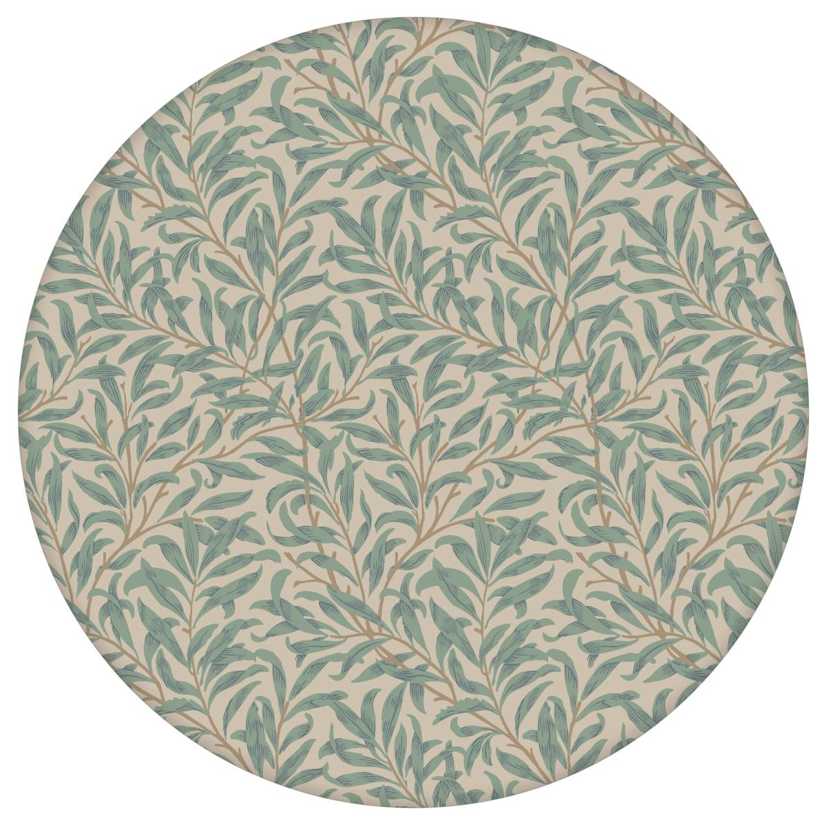 """Klassische Jugendstil Tapete """"Wilde Weiden"""" nach William Morris, beige Vlies Tapete Blumen Natur für Küche  3"""