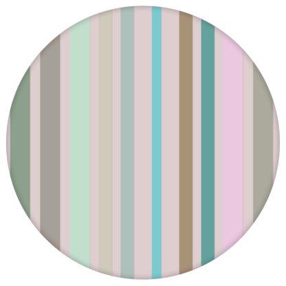 """Edle Classic Tapete """"dekorativer Streifen"""" in feinen Farben, Pastell Vlies Tapete Streifentapete für Flur, Büro"""