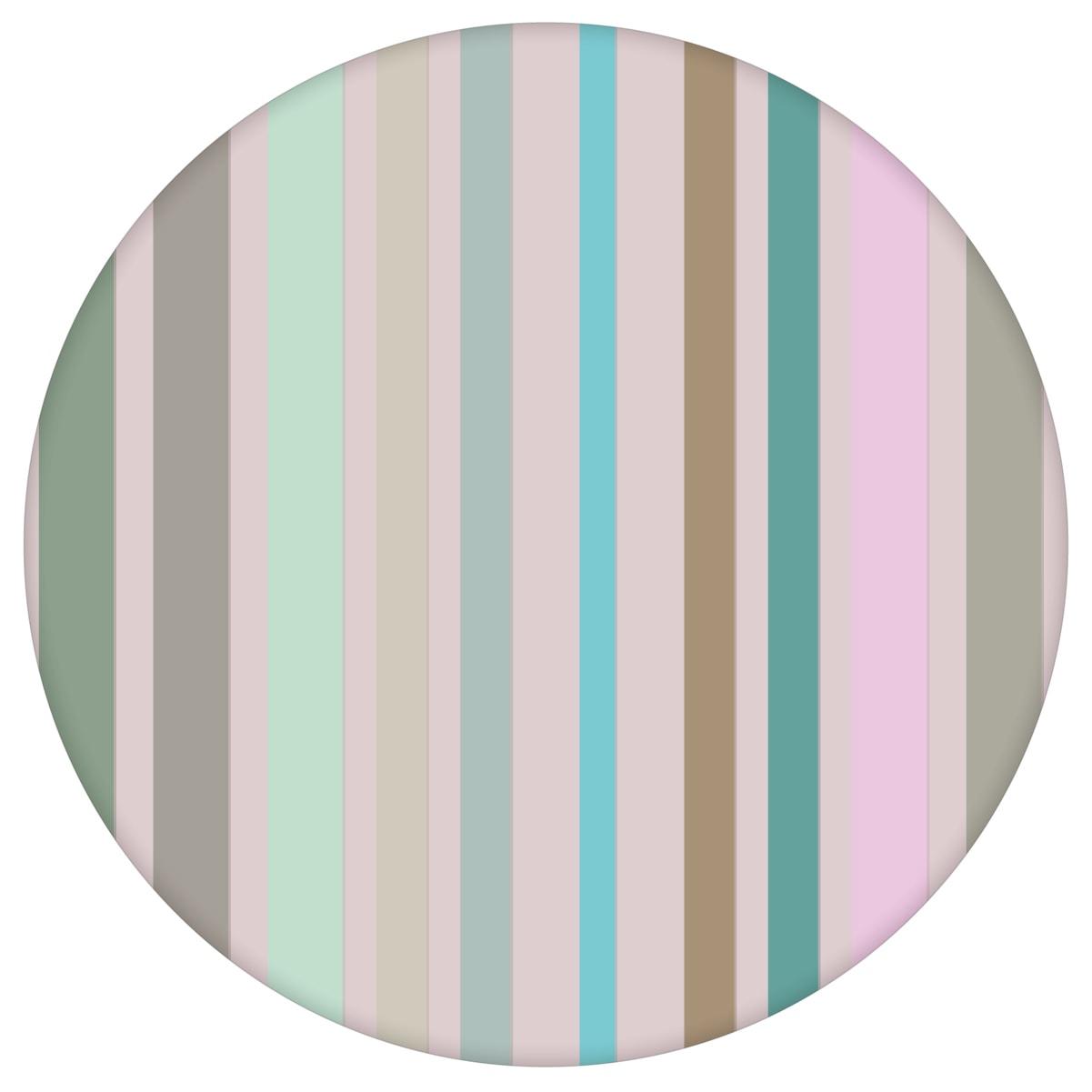 """Edle Classic Tapete """"dekorativer Streifen"""" in feinen Farben, Pastell Vlies Tapete Streifentapete für Flur, Büro  3"""