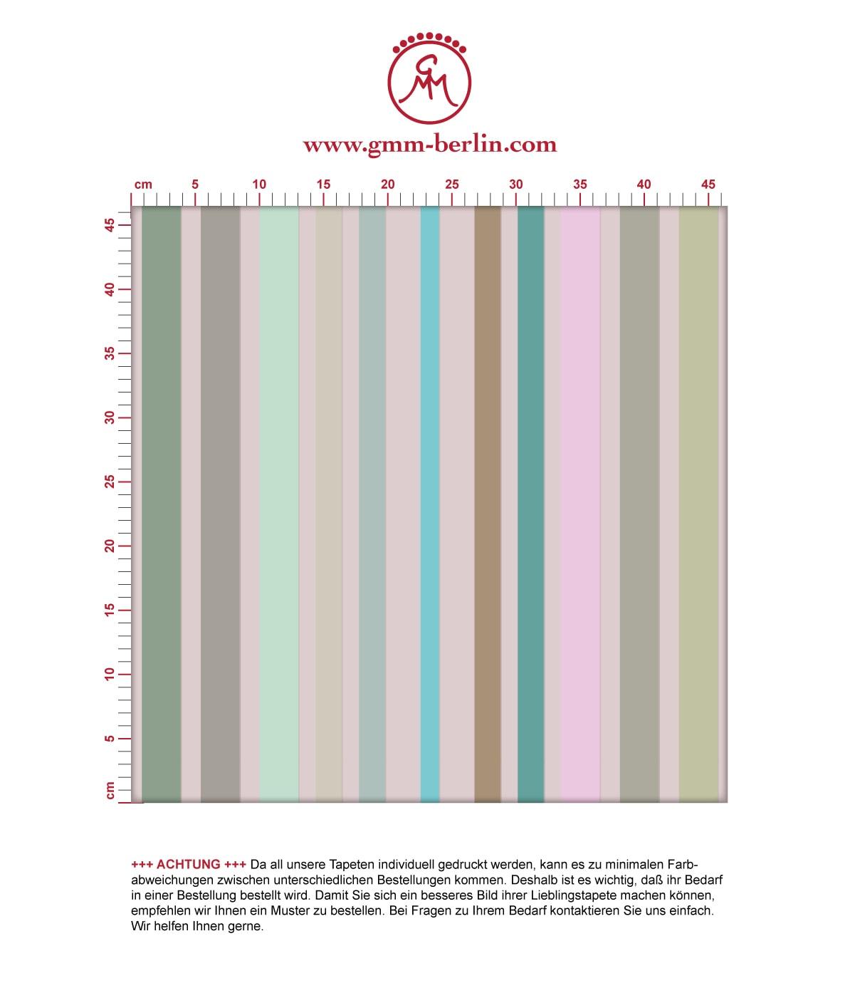 Edle Classic Tapete dekorativer Streifen in aus der Tapeten Design Familie: 00179 als Naturaltouch Luxus Vliestapete oder Basic Vliestapete